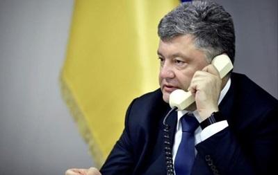 Порошенко и Керри говорили о выборах и Крыме