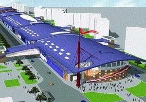 В Киеве над линией метро хотят построить аквапарк