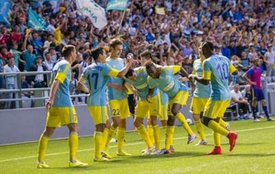 Астана прибыла на игру Лиги чемпионов за 9 дней до матча