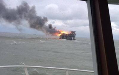 При пожаре на нефтяной платформе в Азербайджане погибли 32 человека – СМИ