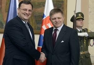 Министры Чехии и Словакии заседают впервые за 20 лет