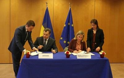 Украина подписала договор с Европейским оборонным агентством