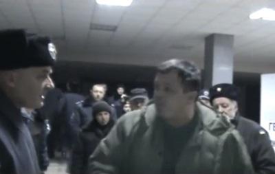 Семенченко избил начальника полиции