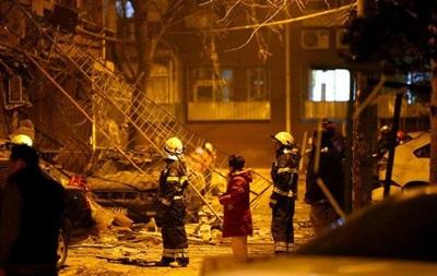 В жилом доме Пекина прогремел мощный взрыв