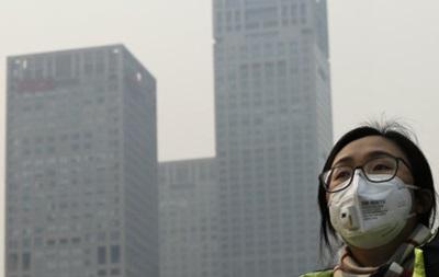 Забруднення повітря уПекіні перевищує норму у15 разів