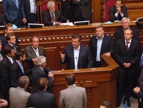 Янукович: Мы не позволим, чтобы вы нам диктовали поднимать руки или ноги