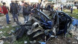 Один из лидеров боевиков в Газе убит израильской ракетой