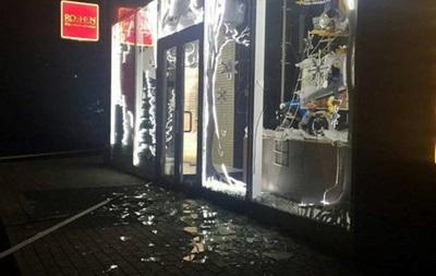 Взрыв Рошен в Харькове
