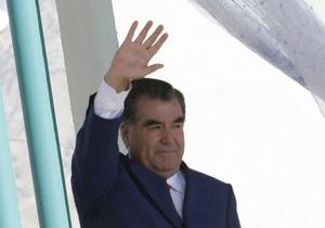 Таджикистан решил отдать Китаю часть территории