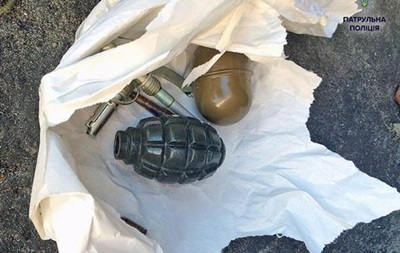 Возле суда в Харькове найдена граната
