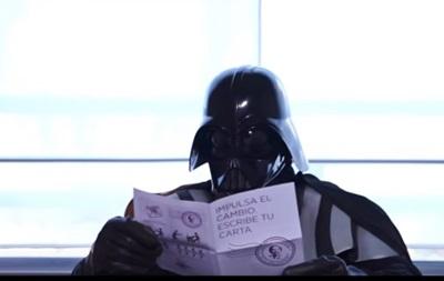 Дарт Вейдер снялся в испанском предвыборном ролике