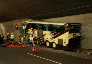 СМИ опубликовали окончательные данные о последствиях аварии автобуса в Швейцарии