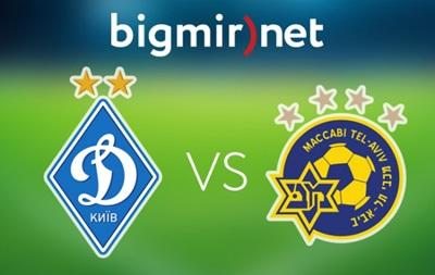 Динамо Киев - Маккаби 1:0 Онлайн трансляция матча Лиги чемпионов