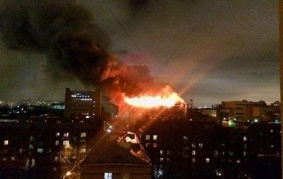 Пожар на машиностроительном заводе в Москве локализован