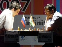Ананд и Крамник сразятся за мировую шахматную корону