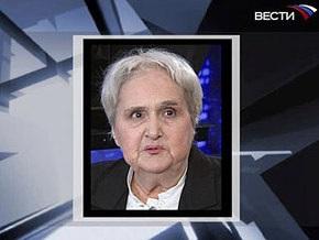 Скончалась известная российская телеведущая Нонна Бодрова