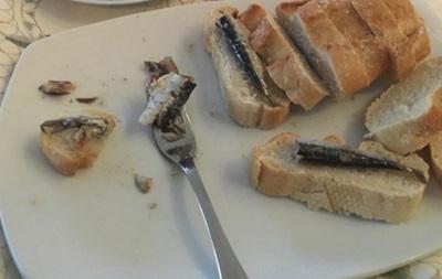 Криштиану Роналду удивил гурманов своим ужином со шпротами