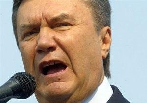 Янукович: Победа над нацизмом объединяет народ Украины и все народы мира