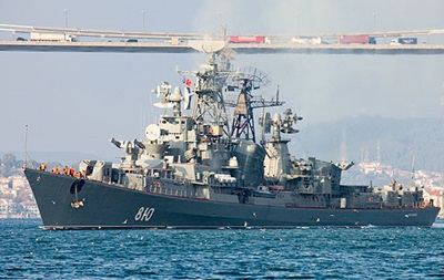 Обстрел корабля в Турции