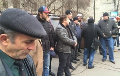 Дальнобойщики пикетируют администрацию Путина