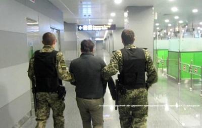 В  Борисполе  задержан разыскиваемый Интерполом грузин