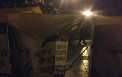 В Мариинском парке избили пожилую активистку