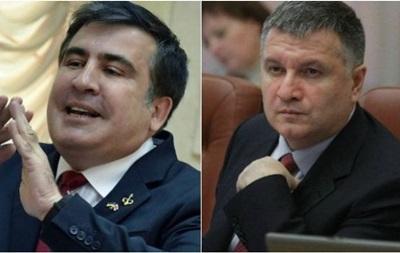 Саакашвили vs Аваков: что не поделили чиновники