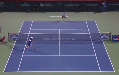 Ефектний удар японця - найкращий момент року в тенісі