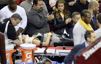 Лидер Кливленда травмировал жену гольфиста во время игры