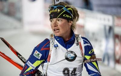Биатлон: Абер  выгрызла  победу в спринте, Джима лучшая из украинок