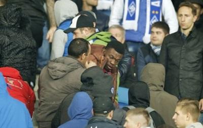 Установлен один из участников драки на матче Динамо - Челси