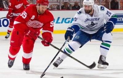 NHL: Победы Вашингтона и Ванкувера, поражение Питтсбурга