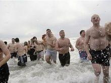Тысячи бельгийцев искупались в ледяной воде