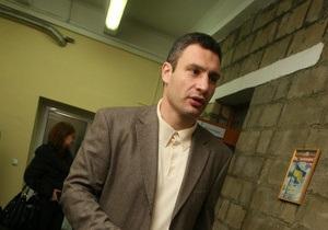Кличко и Попов обсудили текущие проблемы Киева