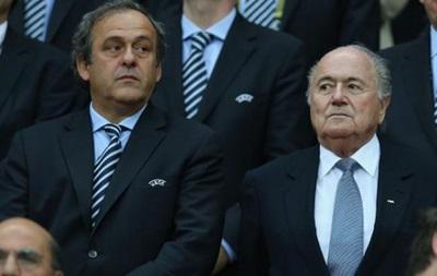 ФИФА отстранила Блаттера и Платини на 8 лет