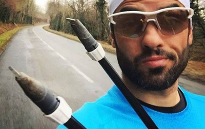 Французский биатлонист обратился к Санта-Клаусу