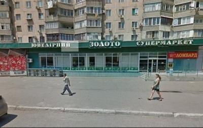 Неизвестные ограбили ювелирный магазин в Одессе