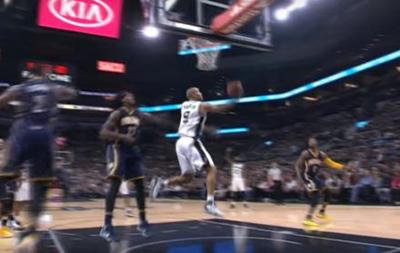 Кидок з-під кільця Паркера - серед найкращих моментів дня в НБА
