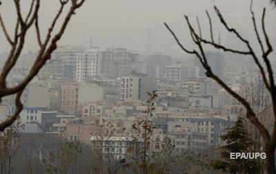 В Тегеране более 150 человек умирают ежедневно из-за грязного воздуха