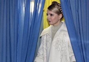 Тимошенко уверенно победила на выборах в Великобритании