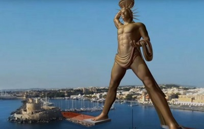 В Греции намерены воссоздать статую Колосса Родосского
