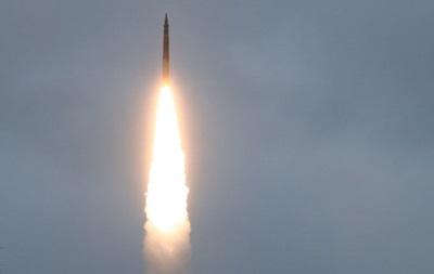 Россия запустила баллистическую ракету Тополь