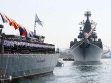 День ВМФ РФ: В Севастополе стреляют
