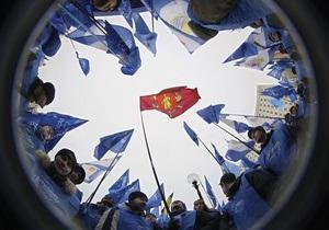 В Киев прибыли почти четыре тысячи сторонников Януковича