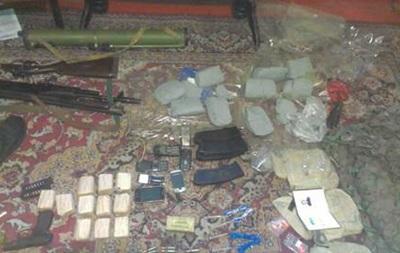 СБУ задержала диверсанта c 9 кг взрывчатки