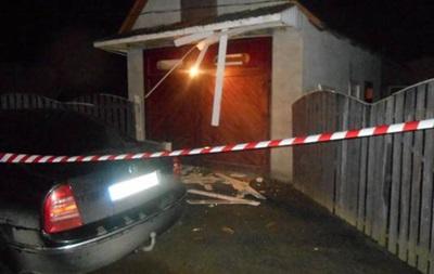 На Закарпатье во дворе дома прогремел взрыв
