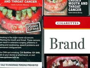 Украина наклеит на сигареты страшные картинки