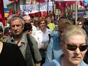 Опрос: Половина украинцев не готовы участвовать в акциях протеста