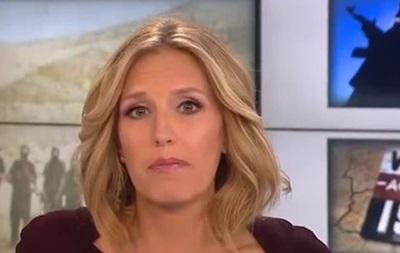 Телеведущая CNN упала в обморок в прямом эфире