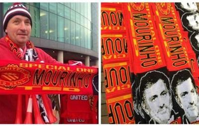 Ожидая Особенного: В Манчестере начали продажу шарфиков с Моуринью